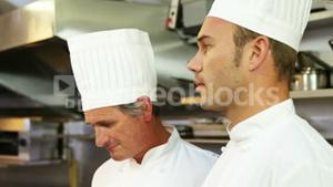 Chef having an argument