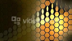 Abstract Golden Rotating Background