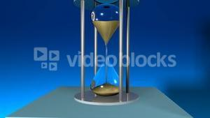 Hour Glass showing passing time