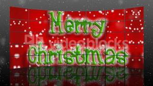 Merry Christmas Animation in 3d
