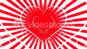 Love heart animation