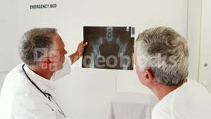 Doctors speaking about the xray radio
