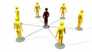 Business teamwork and leadership concept