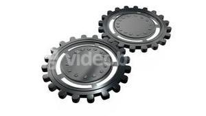Gears and cogs animation 1