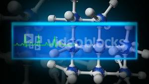 3d Molecule animation