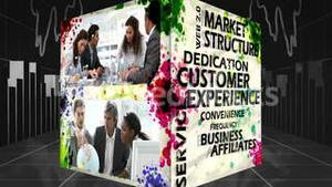 3D Animation of Online Marketing Concepts