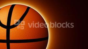 Animation of a basket ball turning