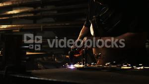 Welder using welding torch