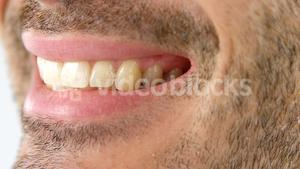 Close-up of smiling man