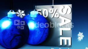 Christmas Shopping Sale Advertisement