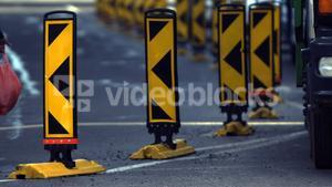 Direction indicator barricade