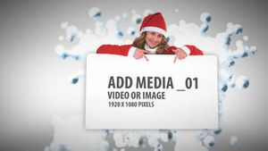 Christmas Snow ball Media Sequence AE Version 5