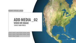 World Continent Media Panels AE Version 3