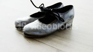 Dancing Shoes on wooden floor