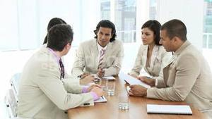 Business Group in a meeting