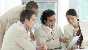 Young Business team in a meeting
