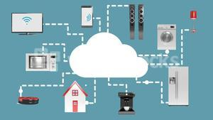 Home appliances connecting through cloud computing